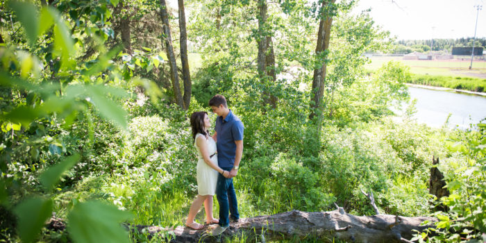 Edmonton Engagement Photography | Rayna & Troy | 3Haus Photographics