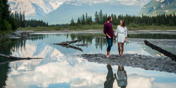 Mount Robson engagement photographer