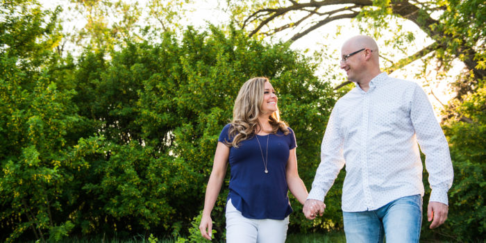 engagement session with family