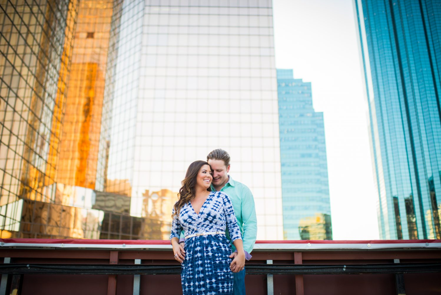 Stunning urban engagement session in the heart of downtown edmonton | 3haus Photographics