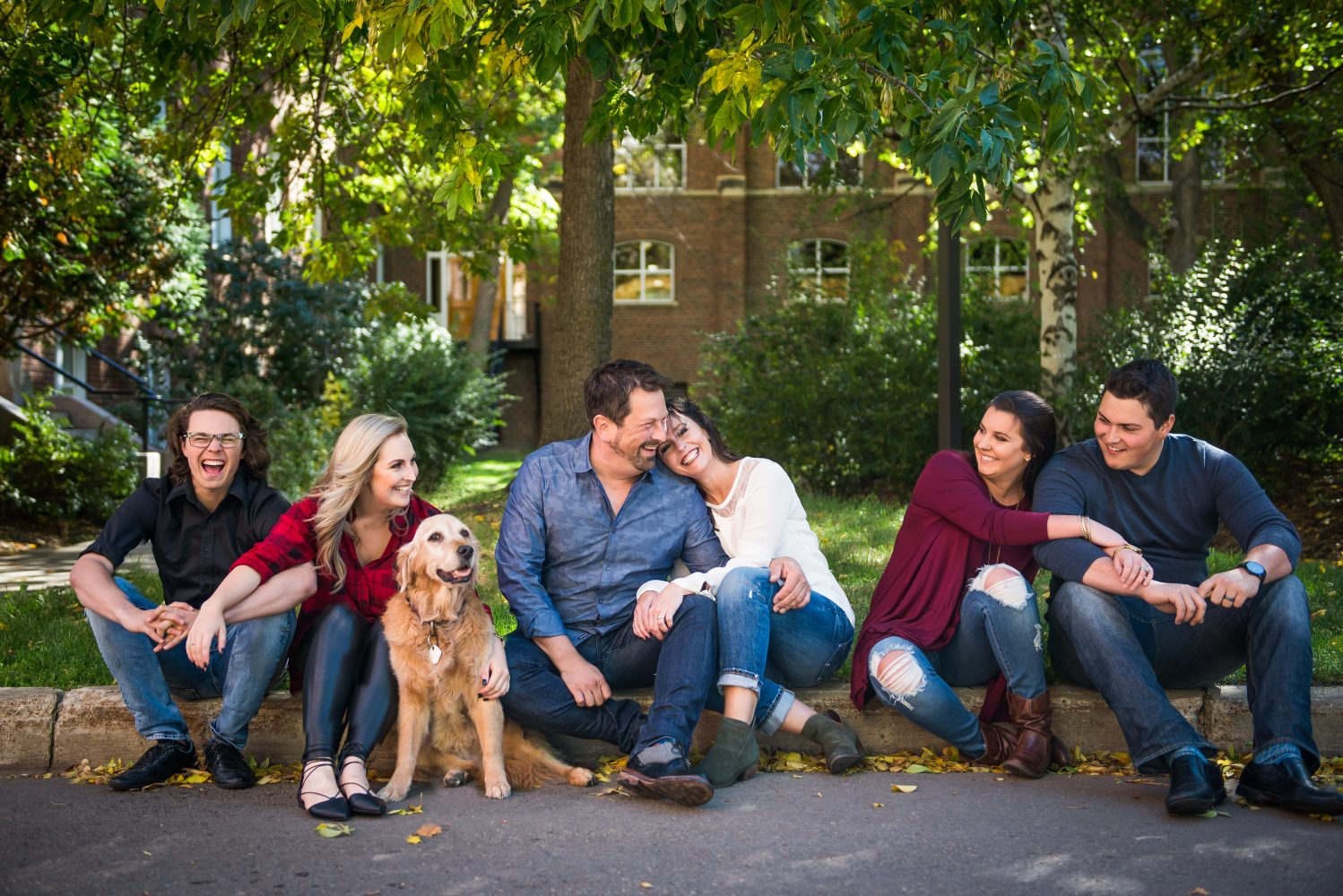 An extended family session at the University of Alberta in Edmonton | 3Haus Photographics