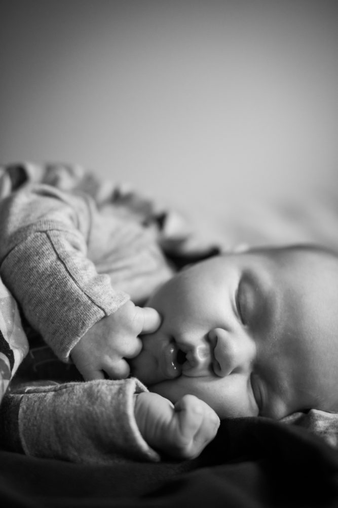 Squishy adorable newborns captured during a newborn session in Portland Oregon
