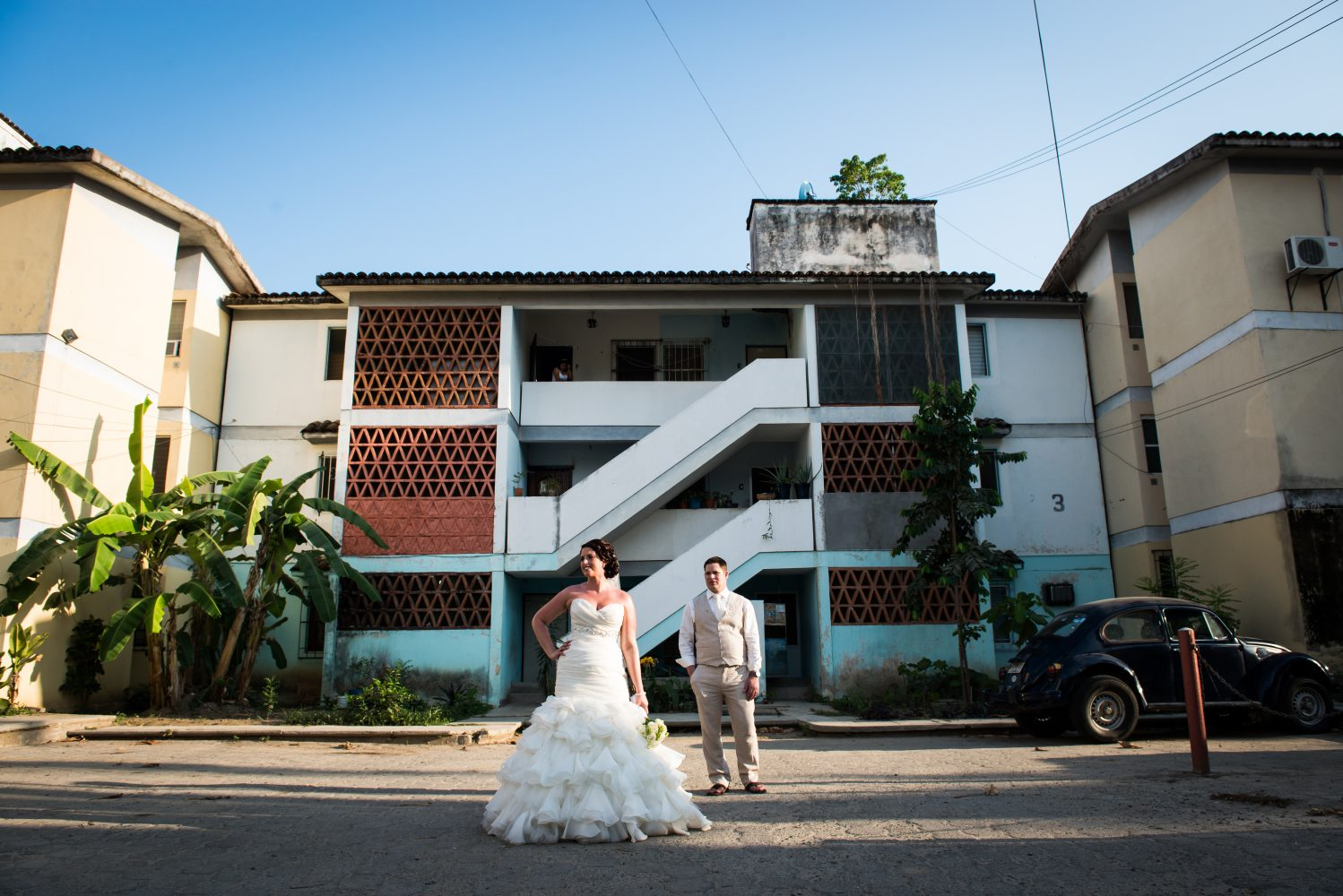 A beautiful day after session in the streets of Haultulco Mexico with the Bride and Groom | 3Haus Photographics