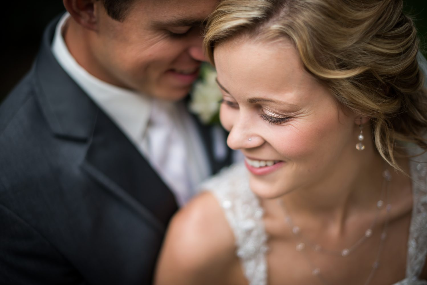A portrait of a couple in love on their wedding day | 3Haus Photographics