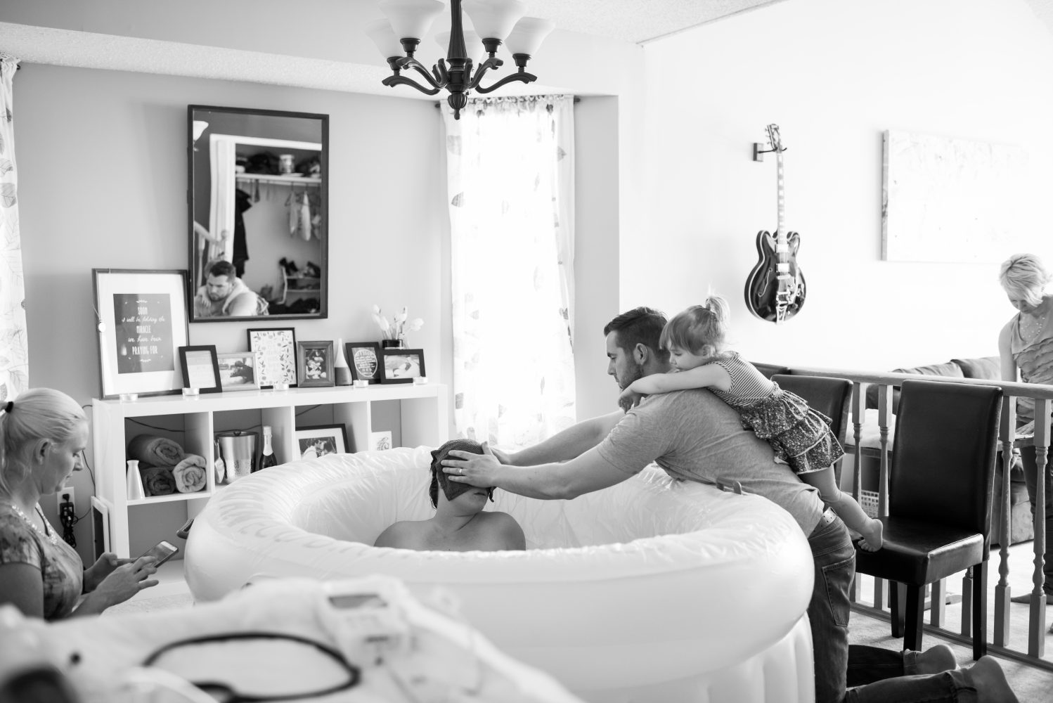 Beautiful photos from an edmonton Birth at home with a midwife | 3Haus Photographics