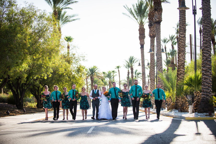 Bali Hai Golf Club, Las Vegas Wedding, Tropical themed wedding, Lego Themed wedding | 3Haus Photographics